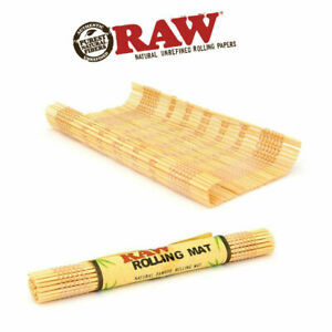 * RAW * OFFICIAL KING SIZE BAMBOO ROLLING MATT MACHINE JOINT ROLLING AID ROLLER