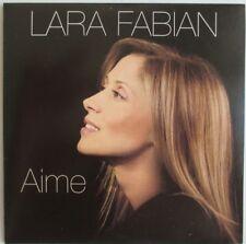 "LARA FABIAN - CD SINGLE PROMO ""AIME"" - CD ""SHAPE"""
