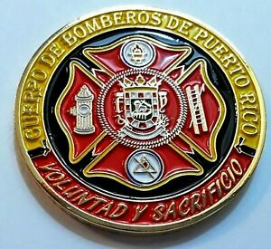 CUERPO DE BOMBEROS Gobierno PUERTO RICO Fire Department EMS Seguridad Publica
