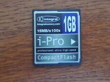 integral iPRO MEMORY card CF Compact-Flash 4GB GB 15mb/s SONY NIKON CANON