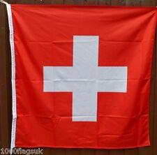 Switzerland Flag - 1:1 Ratio with Correct Pantone Colours - Top Quality