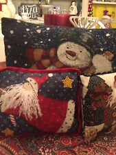 3 Holiday Pillows