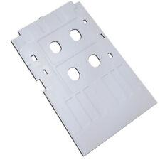 White Plastic Inkjet PVC ID Card Tray for Epson L800 L801 T50 T60 R260 Printer