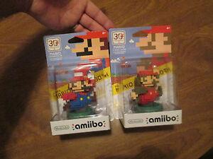 8 BIT MARIO CLASSIC MODERN COLOR Amiibo SUPER M. MAKER Nintendo Wii U 3DS SWITCH