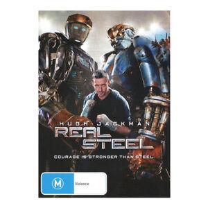 Real Steel DVD Brand New PAL Region 4 Aust - Hugh Jackman - Free Post