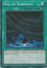 YU-GI-OH CARD SUPER RARE: VEIL OF DARKNESS  - DESO-EN052 1ST EDITION