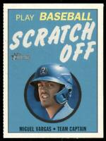 2020 Heritage Minors Scratch Off #27 Miguel Vargas - Rancho Cucamonga Quakes