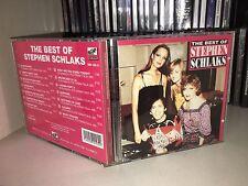 STEPHEN SCHLAKS THE BEST OF  RARO CD 1992 BABY RECORDS MADE ITALY FUORI CATALOGO