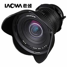 Venus Laowa LW-FX 15mm F4 1:1 Wide Angle Macro Lens for Sony Alpha A65 A57 A55