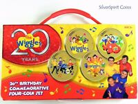 2011 THE WIGGLES Birthday Commemorative Coin Set