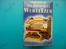 """ORGANISTS  """" THE WONDERFUL WURLITZER OVER 120 MARVELOUS TUNES! """"  3 CASSETTES"""