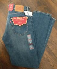 NWT LEVIS MENS 511 2187 SLIM-FIT PERFORMANCE STRETCH ZAPPA BLUE JEANS 30X30