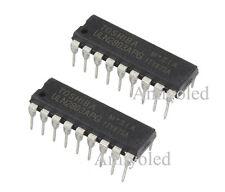 2 x ULN2803APG IC Toshiba array transistor Darlington Dip18