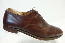 ALDEN 900 Brown Sz 11 A/C Narrow Men Cap-Toe Dress Shoe Oxfords