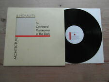 OMD-ARCHITECTURE & MORALITY-SUPERB AUDIO-DIN DISC-INSERT-EX VG VINYL LP 1981