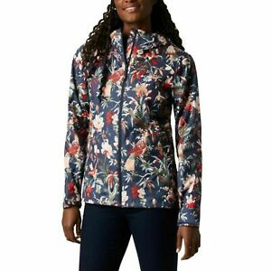 Columbia Womens Nocturnal Bird Branches West Bluff Printed Jacket Size S $110