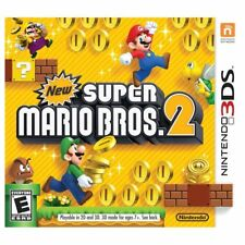 Nintendo 3DS New Super Mario Bros. 2 Game BRAND NEW SEALED