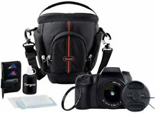 Genuine Targus DSLR Camera Bag With Deluxe Starter Kit - Brand NEW - FREE Ship!