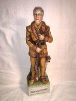 """Vtg 1973 McCORMICK Whiskey Decanter DANIEL BOONE Bottle 14"""" Gunfighter Series"""