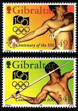 1994 Gibraltar Olympics Complete Set SG 730 - 1 Unmounted Mint