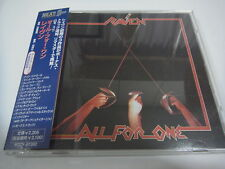 RAVEN-All For One JAPAN Press w/OBI 3 Bonus Tracks NWOBHM Iron Maiden Saxon