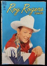 Roy Rogers Comics Volume 1 Issue #6 Dell Photo Cover Comic Book