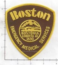 Massachusetts - Boston EMS Emergency Medical Services MA Fire Dept Patch v2