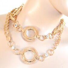CEINTURE bijou tressée femme or doré métal cristaux strass cérémonie  élégant 06 ca4bb14ff45