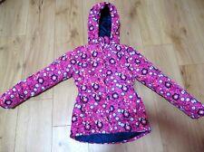 £38 girls jacket Name It pink rain next Hood Coat 9 - 10 - 11 years CHRISMAS VGC