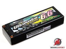 Nano-tech Ultimate 6600mah 2S 7.4V 90C Hardcase Car Lipo Pack ROAR BRCA Approved