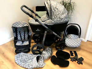 Venicci Pram Travel System 3 In 1 Pushchair Set-WILL DELIVER