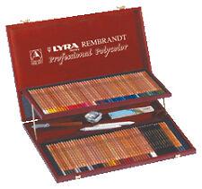 LYRA Rembrandt Polycolor Art Pencils Set of 105 Pencils Plus Accessories