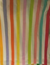 Kombozo Double Bed Skirt With Pleats multi color Striped 14� Long 54x72 Mattress