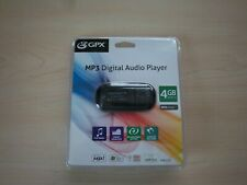 GPX MP3 DIGITAL AUDIO PLAYER 4GB 2000 SONGS EQUALIZER