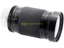 Zoom Vivitar 28/135mm. f3,5-4,5 MC Macro focusing, innesto a baionetta Contax.