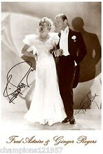 Fred Astaire-Ginger Rogers ++Autogramm++ ++Hollywood ++