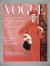 Vogue Magazine - September 1, 1958