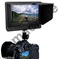 """Lilliput 7"""" 665GL-70NP/H/Y HDMI HD Monitor+hot shoe stand+BNC Adapter+HDMI cable"""
