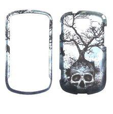 Night Skull Tree for Samsung Brightside U380   Rubberized  Case Cover ,,