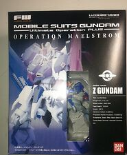 FW Fusion Works Mobile suits Gundam Ultimate Operation Maelstorm set Bandai