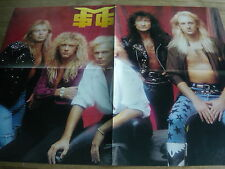 MICHAEL SCHENKER GROUP - LARGE FOLD-OUT MAGAZINE POSTER (REF CC1)