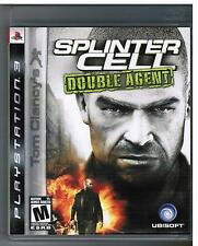SPLINTER CELL DOUBLE AGENT PS3 PLAYSTATION 3 Tom Clancy's