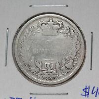 1845 Shilling  - Victoria - Great Britain - Spink# 3904 - KM# 734.1