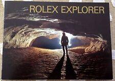 EXCELLENT VINTAGE ROLEX BOOKLET 1993 For EXPLORER I II 14270 16570