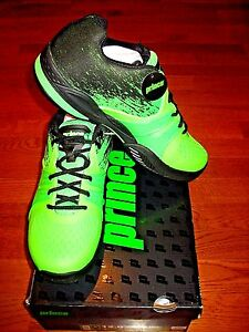 Prince WARRIOR LITE Men's Tennis Shoes - Green/Black - Brand New!