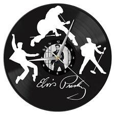 ELVIS Presley Vinyl Record Wall Clock Man Cave Bar Christmas Birthday Gift