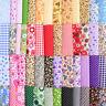 50pcs/Set Fabric Bundle Patchwork Clothing Sewing Quilting Crafts DIY Decoration