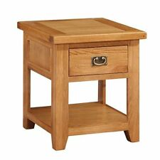 Oak Side and End Tables