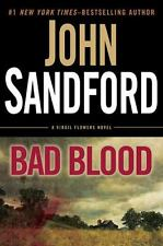 Bad Blood: a Virgil Flowers novel Sandford, John Hardcover