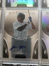 2013 Bowman Sterling Prospect Autographs #JMA Jacob May Auto -Chicago White Sox